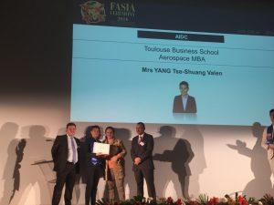 Mrs YANG Tse-Shuang Valen Aerospace MBA Delegate FT17