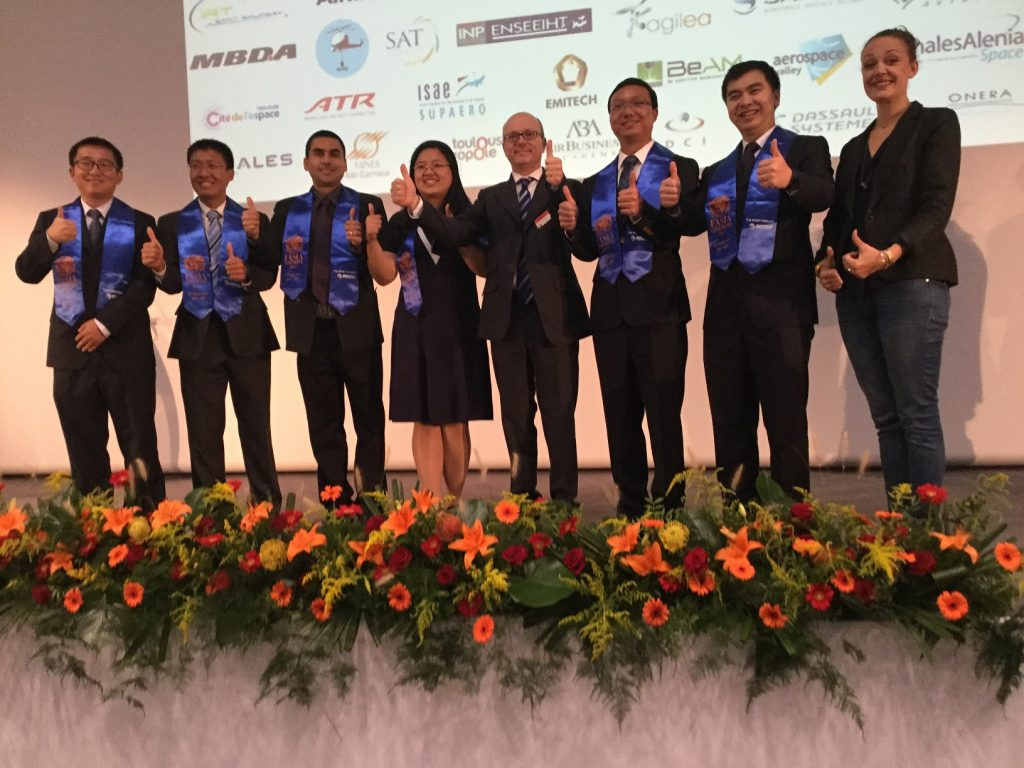 Gerson ARAUJO DIAZ, Lei GAO, Xinchao SUN, Jiexin TAN, Fengnan XU, Lei XU, Quan ZHOU with Ms. Marie Baudoin & Dr. Christophe Bénaroya